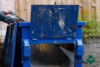 شستشوی-سطل-زباله  شوینده سطل زباله بهزیست 1265