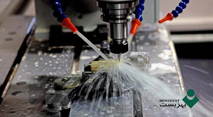 اهمیت کیفیت آب در تهیه امولسیونهای فلزکاری semi synthetic