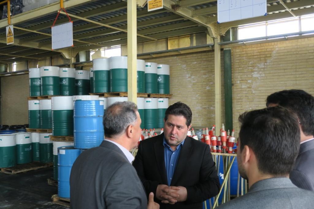 بازدید ریاست و هیئت عامل صندوق نوآوری و شکوفایی از شرکت کیمیاگران بهزیست
